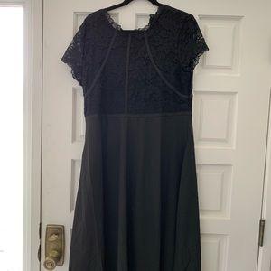 Beautiful formal black maxi dress